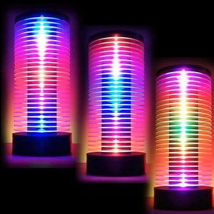 Image 2 - DJ LED Automotive otoczenia lampa muzyka, interaktywne lampa Audio rytm akrylowe lampka nocna wielu animacja MUZIO