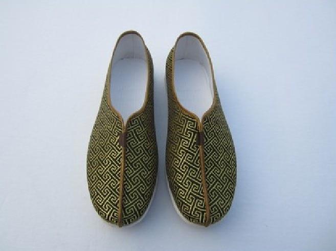 Shaolin Moine Bouddhiste Kung fu Chaussures D'arts martiaux Chinois Wing Chun Entrainement Baskets Pour Femmes Hommes cousu Main Doux chaussures