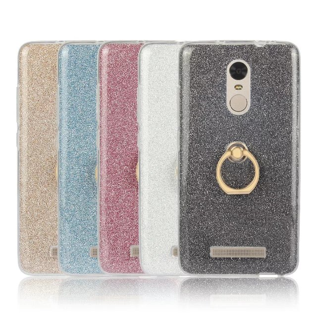 Cyato Soft Cover Case On The for Xiaomi Note 3 4C 4S 5 5S Plus redmi 2 3 3S 3X 4 Note 2 3 4 Luxury HighQuality With Ring Buckle