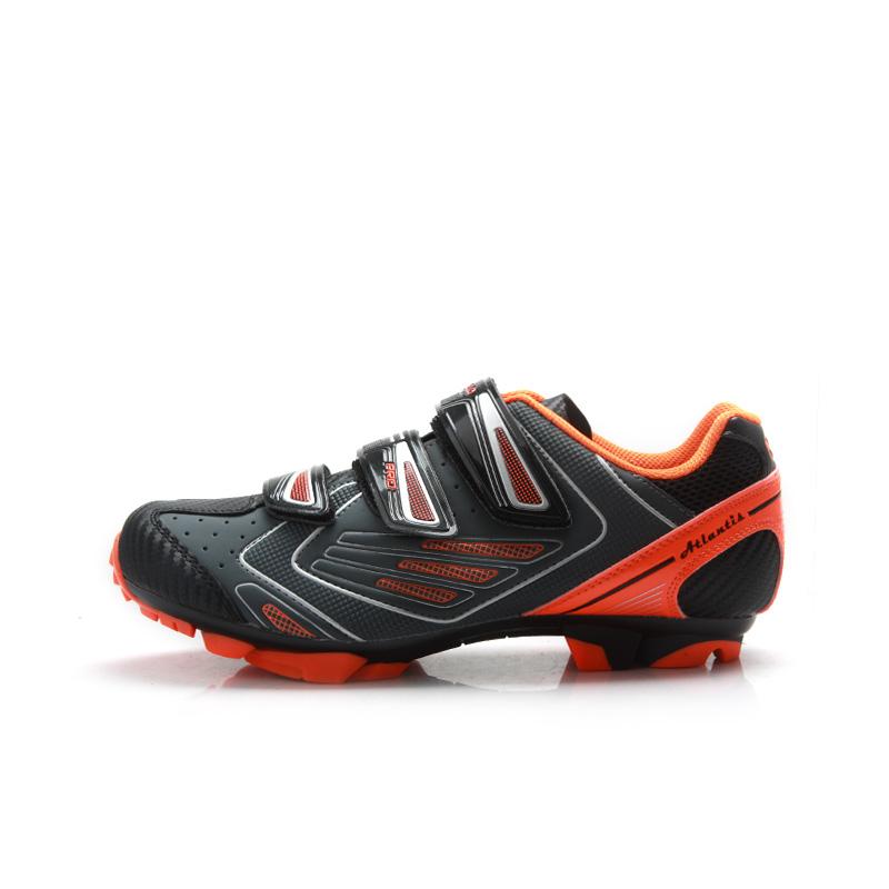 Prix pour TIEBAO M1521 VTT Chaussures Pour Intérieure Et Extérieure Équitation Vélo chaussures Crochet et Boucle Fixer Vélo Chaussures Compatible Avec SPD taquet