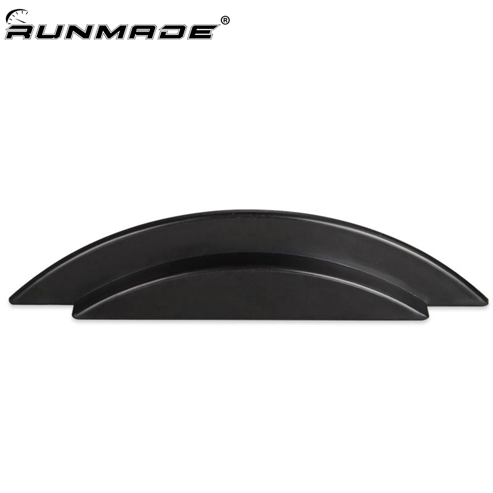 runmade Black Hood Notch Filler for 1999 2006 VW Golf/ GTI/ R32 MK4-in Body Kits from Automobiles & Motorcycles