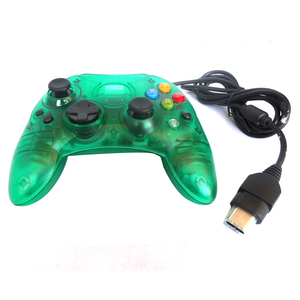 Image 4 - xunbeifang Transparent wired Gamepad Joystick Game Controller for Xbox