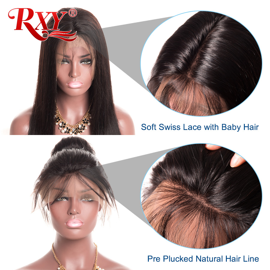 Black Hair 13X6 Wigs