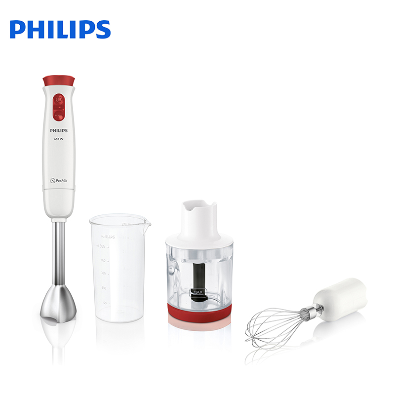 Blender Philips HR1625/00 Electric Kitchen Submersible Blenders With Whisk With Chopper