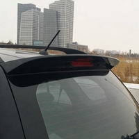 Car Styling ABS Plastic Unpainted Primer Color Rear Wing Lip Spoiler Auto Part For Kia Carens 2007 2008 2009 2010 2011