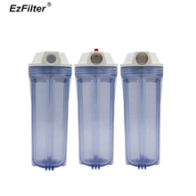 Standard Thicken Pre-Filter Filter Bottle Brass Port 3/4 1/2 Inlet and Outlet 10 Water Housing