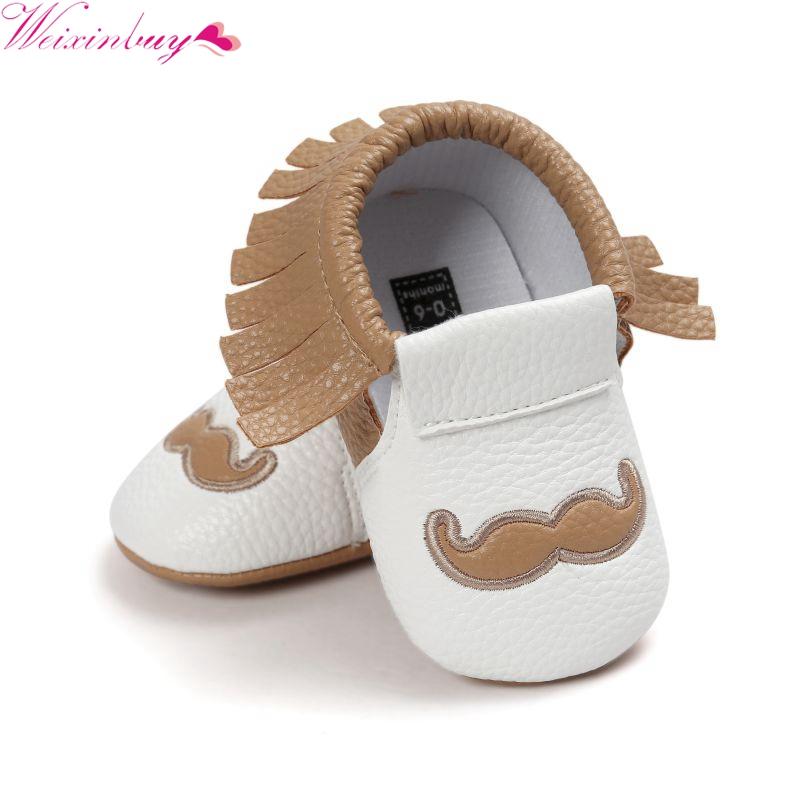Toddlers Baby Shoes Soft Soled Tassel PU Leather Crib Shoes Prewalker baby moccasins Moccs Shoes First Walkers
