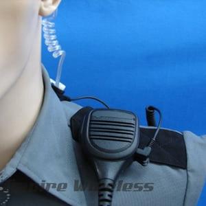 Image 5 - Mag One Motorola tarafından PMMN4021A uzaktan hoparlör mikrofon 3.5mm ses jakı ile Motorola GP328 HT1250 HT750 MTX950 MTX8250