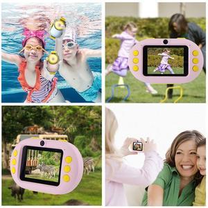 Image 3 - Professional Kids Camera Digital Wifi SLR Mini Camcorder Point Diving Dual Lens 8MP 2.4inch Full HD Shockproof Boys Girls Camera