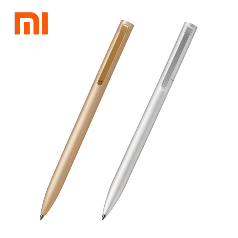 Newest Arrivel Original Xiaomi Mijia Metal Sign MI Pens 0.5mm Signing Pens PREMEC Smooth Switzerland Refill MiKuni Japan Ink