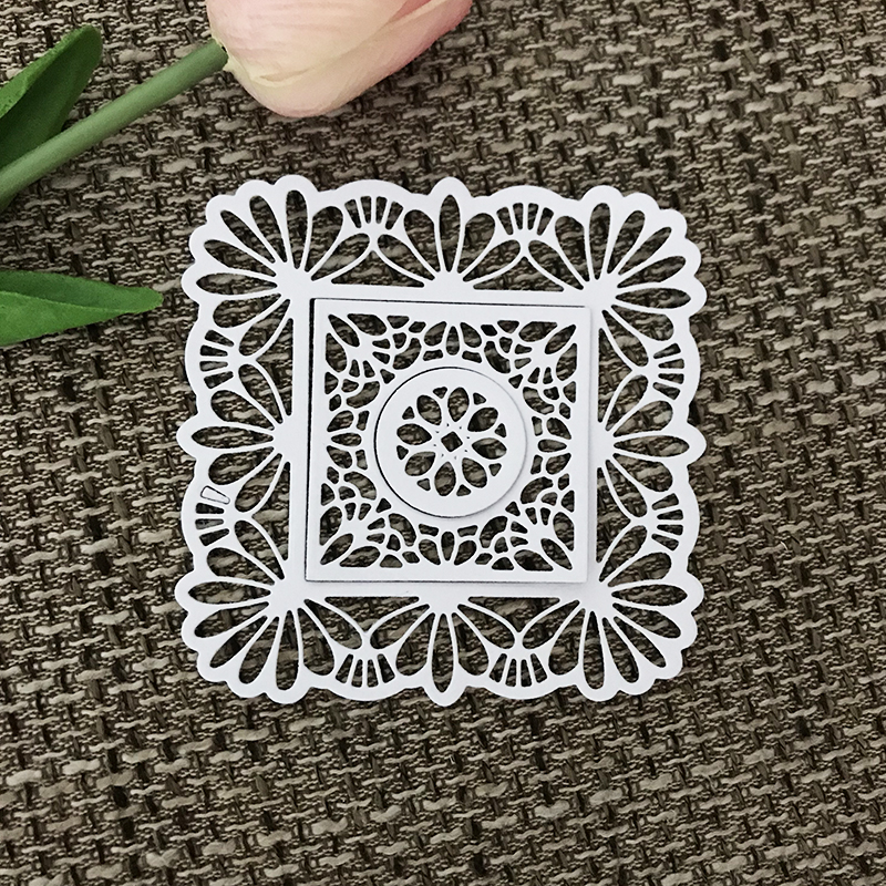 3Pcs Lace Design Metal Cutting Dies For DIY Scrapbooking Album Paper Cards J/&C