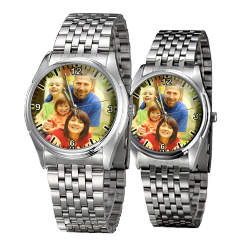DIY Lover's Wristwatch Photo Printed Quartz Watch Customizable Wrist Watches With Picture Print Custom Made Unique Gift A3305w