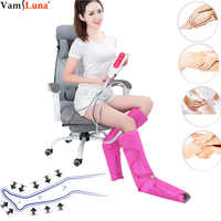Leg Massager Air Compression- Upgrade Leg Compression Wraps for Foot and Calf Circulation for Pain Relief and Muscle Relaxing
