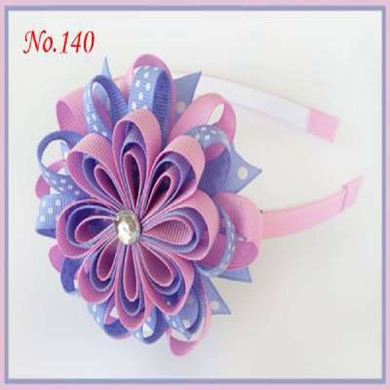 "50 BLESSING Boutique Good Girl Woven Headband 5/"" Bowknot Hair Bow Clip 186 No."