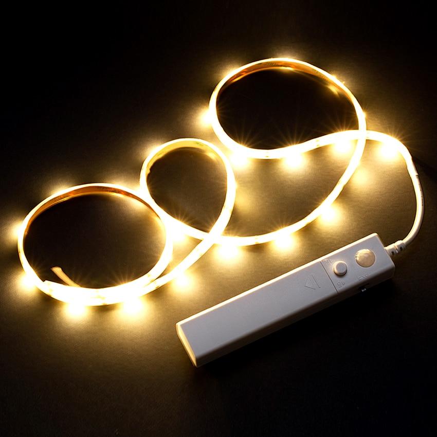 Tiras de Led noite lanterna tira sensor de Especificações (pontos de Luz / M) : 30 Pcs/m