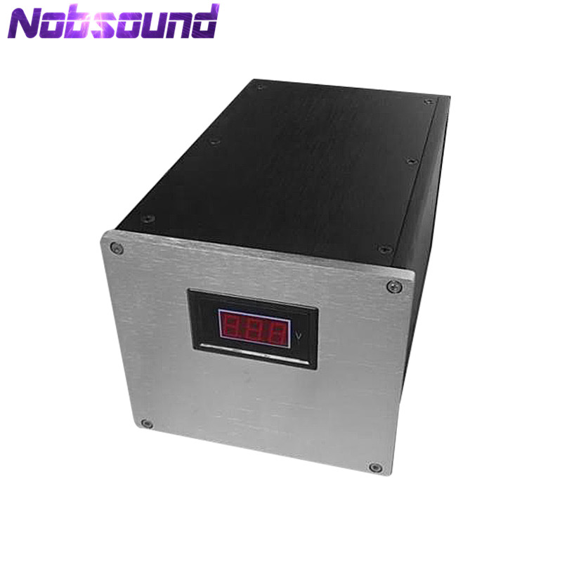 Nobsound Aluminum Chassis Power Supply Enclosure DIY Amplifier PSU Case W161*H140*D251 mmNobsound Aluminum Chassis Power Supply Enclosure DIY Amplifier PSU Case W161*H140*D251 mm
