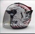 Casco de moto Casco de sol 27 s unicorn vendimia tapa caballero casco de la motocicleta casco de la Moto