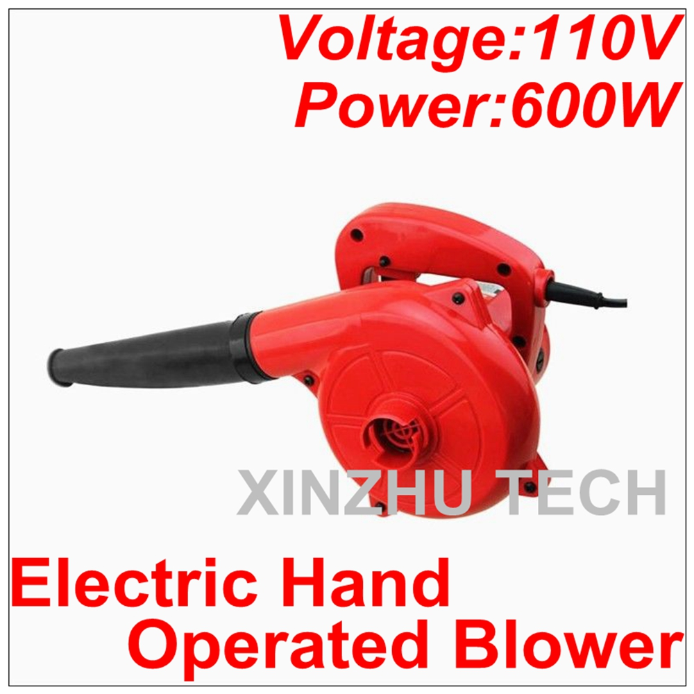 110V Electric Hand Operated Blower Computer Cleaner Electric Air Blower Computer Vacuum Household Cleaner Suck Blow Dust Remover ...