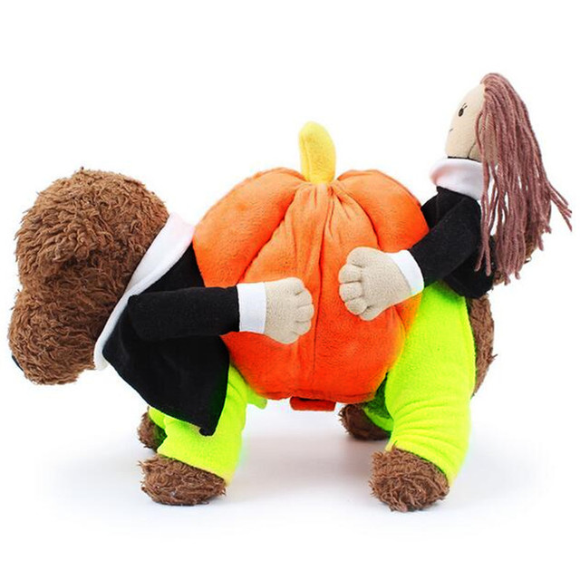 Pumpkin Dog Clothes Funny Halloween Dog Costume Warm Dog Coat Winter Pet Clothes for Small Medium  sc 1 st  AliExpress.com & Pumpkin Dog Clothes Funny Halloween Dog Costume Warm Dog Coat Winter ...