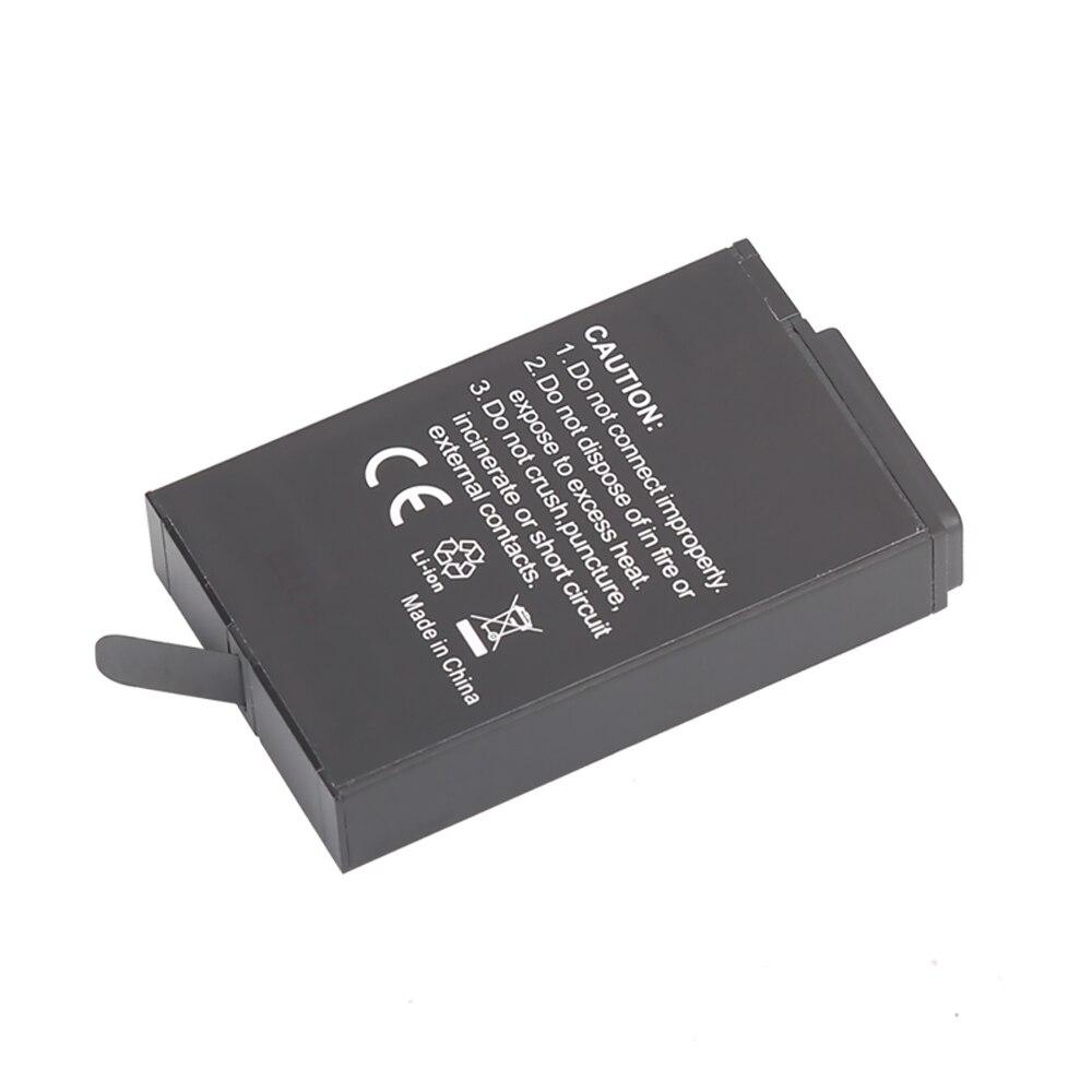 US $16 8 20% OFF|TELESIN 1pcs 2620mAh 3 85V ASBBA 001 Battery for Fusion  360 Degree Sports Action Camera + Mini Camera and Battery Storage Bag-in