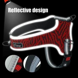 Image 2 - Reflective Dog Harness Adjustable Nylon Pet Mesh Harness Vest Pet Supplies For Medium Large Dogs Walking Training