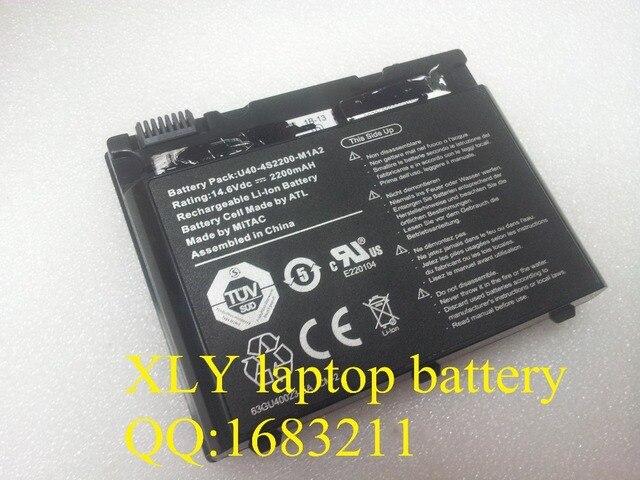 Батареи для портативных компьютеров U40-4S2200-E1M1 U40-4S2200-G1B1 U40-4S2200-G1L1 U40-4S2200-M1A1 U40-4S2200-S1L1 U40-4S2200-M1A2