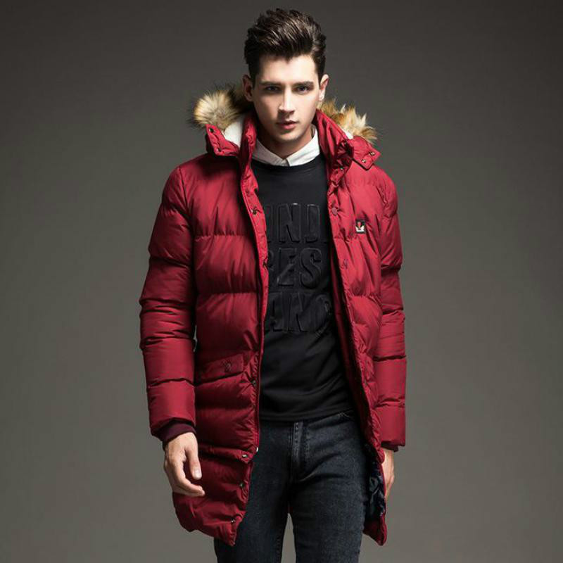 2019 New Winter down Jacket Men Coat Mens Coats Manteau Homme Man   Parka   Abrigos Hombres Invierno   Parkas   Fashion