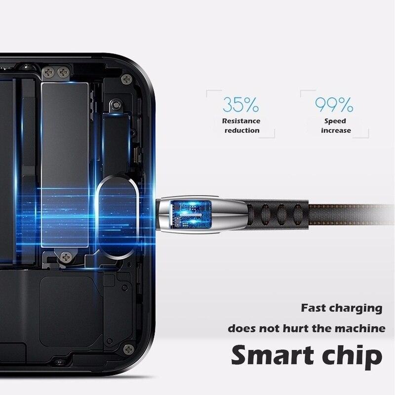 Image 2 - Micro câble USB Charge rapide câble de données USB cordon de synchronisation pour Samsung Huawei Xiaomi et riod Microusb câbles de téléphone portable 0.5/1/2/3mCâbles pour téléphone portable   -