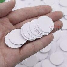 10 pçs/lote Ntag215 TAG NFC Etiqueta RFID Tag Token Tag Chaves llaveros llavero Patrulha Universal Mini Telefone NFC Tag
