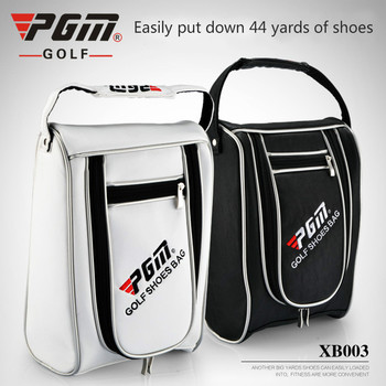 For Sale Pgm Sports Golf Shoes Bag Waterproof Wear-Resistant Cover Bags Nylon High Capacity Wearable Man Golf Bag For Shoes Bags D0049
