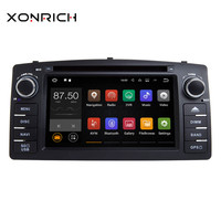 Xonrich 2Din Android 8.1 Car Multimedia Player For Toyota Corolla E120 BYD F3 Stereo GPS DVD AutoRadio Head Unit Navigation Wifi