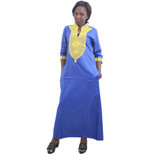 MD dashiki african dresses for women south africa traditional dress ladies plus size clothing 2019