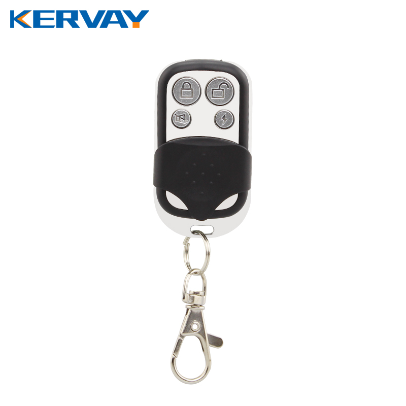 Wireless 433MHz Key Telecontrol Metal Remote Control for Our K-A2 GSM Burglar Security Home Alarm System