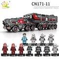 CargoTruck Serie Technic Errante Terra di Trasporto di Camion Building Blocks Compatibile Legoing Technic Super di Salvataggio Giocattoli Amici