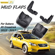 Vorne Hinten Schlamm Flaps Für Subaru Xv cross 2013 - 2017 Schmutzfänger Splash Guards Klappe Kotflügel kotflügel 2014 2015 2016