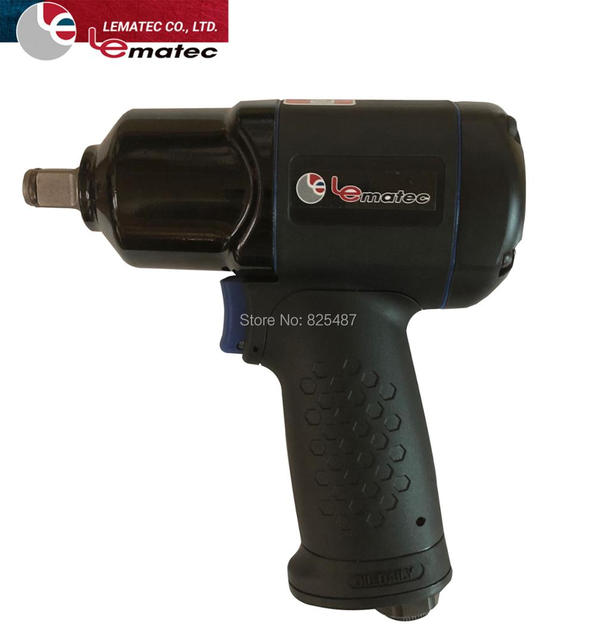 Lemaetc 1 2 Inch Composite Air Impact Wrench Lightweight Tools 10000 R P M Pneumatic Auto Repair