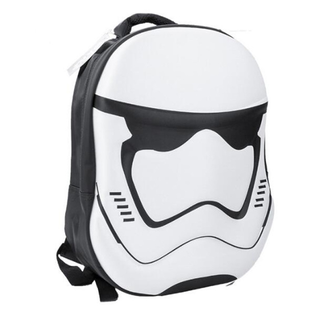 Black and white 3D Star Wars Backpacks