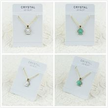 Enamel Alloy Seas and Oceans Jellyfish Choker Necklace Chain Pendant Cartoon Novelty Jewelry For Women Girl Ladies Accessories(China)