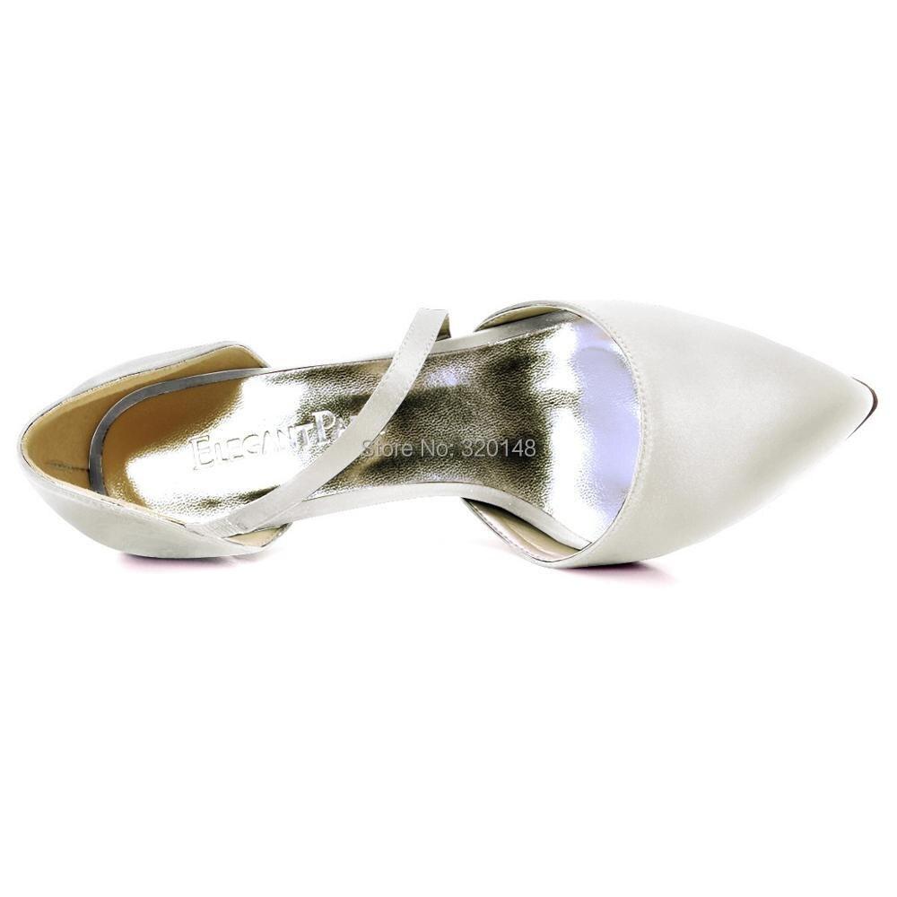 البحرية أحذية المرأة الزفاف