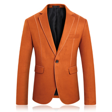 2019 autumn and winter new mens woolen  suit self-cultivation business casual jacket large size S-5XL