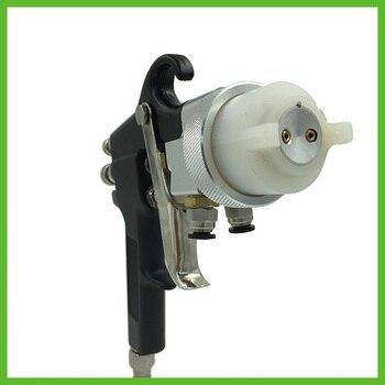 цена на SAT1182 professional diy tools high pressure paint spray gun chrome paint spray gun for car painting machine tool