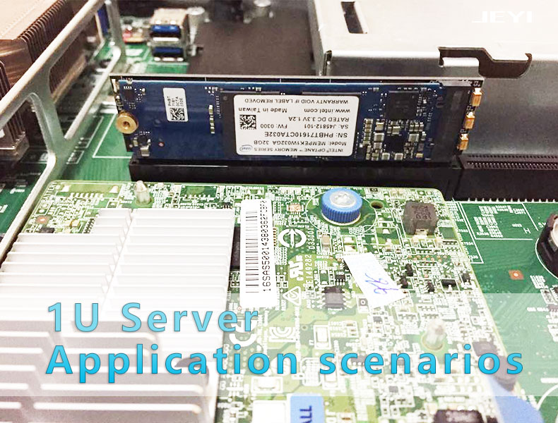 JEYI MX16-1U M.2  SSD NGFF TO PCI-E 3.0 X8 X16 Adapter M Key Interface Card