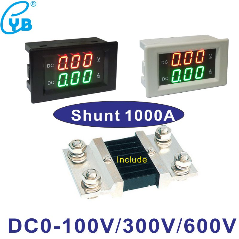 Electrical Instruments Yb5135a Led Dc Ammeter Current Meter 200ma 2a 5a 10a 20a 50a 100a 200a 300a 500a 1000a Milli Amp Meter Micro Ammeter Amp Meter