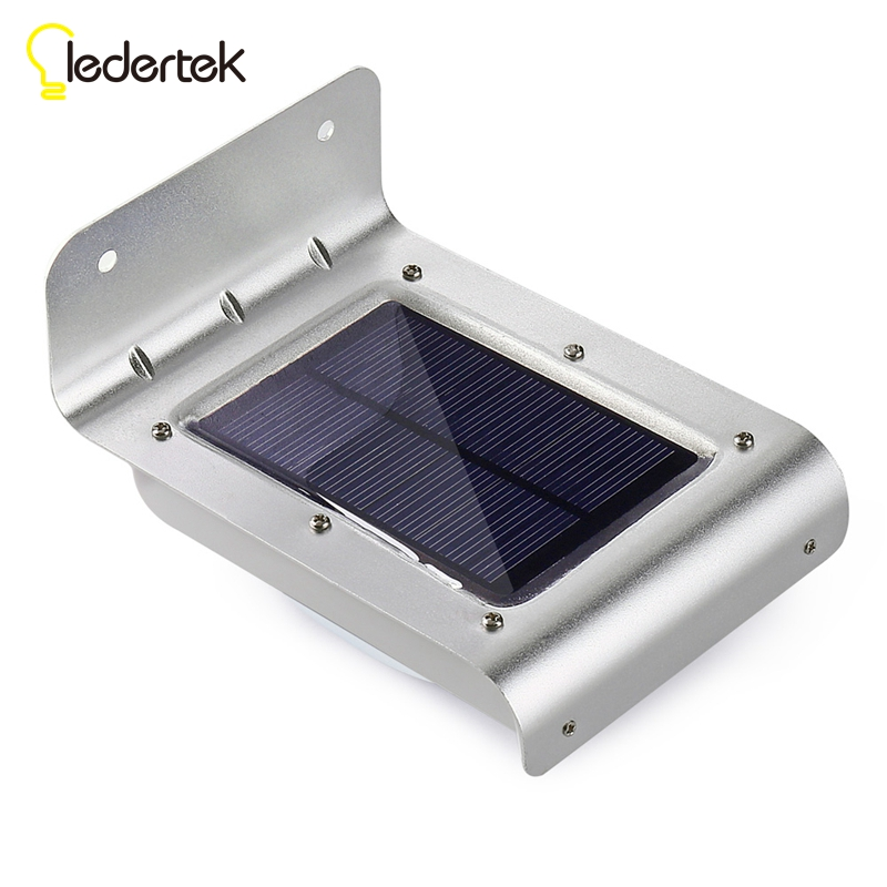 16 LED Outdoor Solar Led Light Wall Mount Security Lamp Super Bright Waterproof Light Motion Sensor Garden Patio Path Fence Lamp