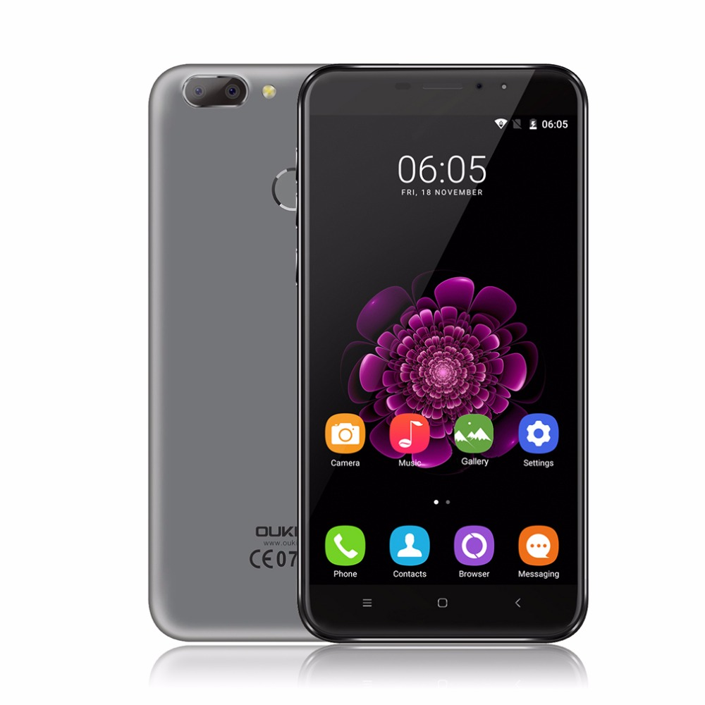 Oukitel U20 Plus 5 5 Mobile Phone Dual Camera IPS Screen Android 6 0 Quad Core