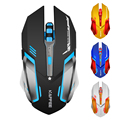 Rechargeable Wireless Gaming Mouse 7-color Respirar Retroiluminación Gamer Ratones para Ordenador Portátil de Escritorio NoteBook PC
