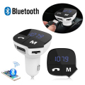 Car MP3 Audio Player Bluetooth FM Transmitter Wireless FM Modulator Car Kit HandsFree LCD Display USB Charger For all Phone