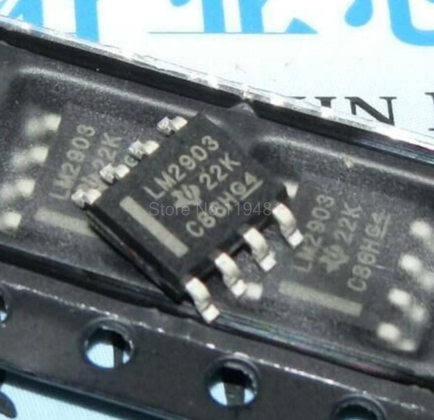 LM2903 SOP8 Comparator Dual +-15V/30V 8-Pin SOIC LM2903DR