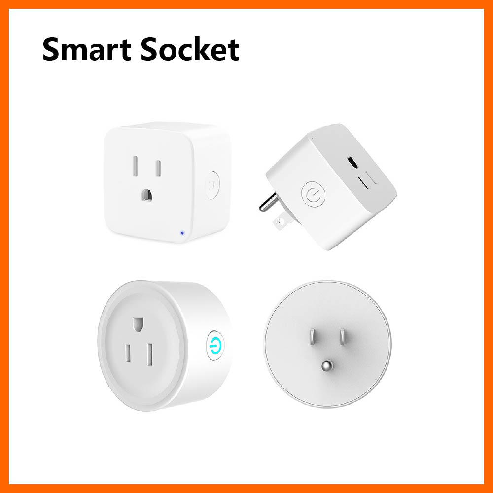 Mini Smart Socket Power On And Off By Phone Remote WiFi Connection Smart Timing Countdown Support Amazon Echo Alexa Google Home