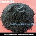 High Fineness Black Tourmaline Powder 2500mesh Black Fine Negative Ion Tourmaline Powder